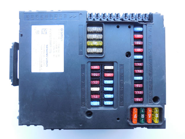 Smart Car Fortwo Fuse Box Location : Smart fortwo  fuse box body control module sam