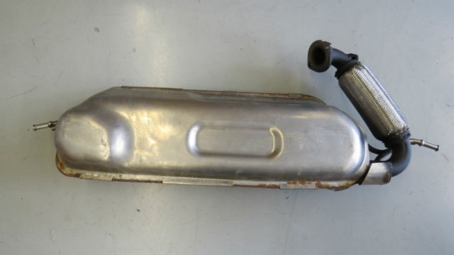 Smart Fortwo 2008 2014 Oem Muffler With New Flex Pipe
